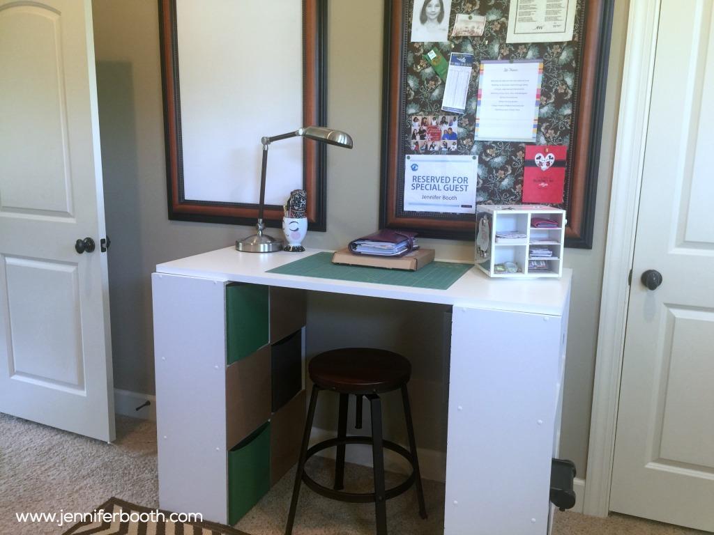 craft desk after