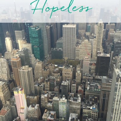 When Life Feels Hopeless