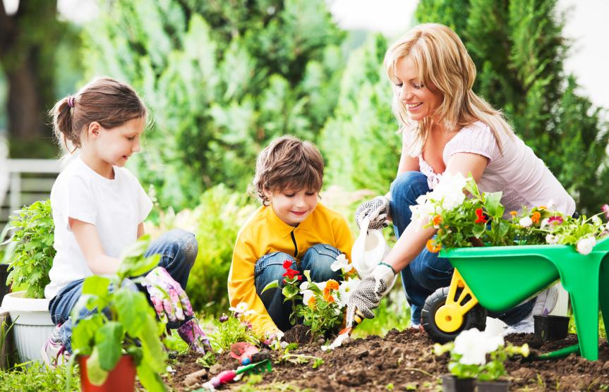 Image result for gardening with children