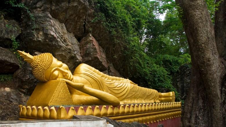 Buddha oversleeping