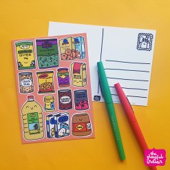 Desi Cupboard Essentials Postcard