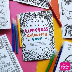 colouring book for kids and adults