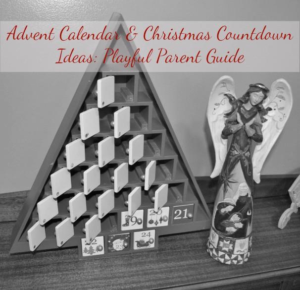 advent calendar christmas countdown ideas playful parent guide - Christmas Countdown Ideas