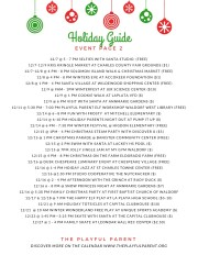 HOLIDAY 2018 GUIDE- EVENTS PG 2