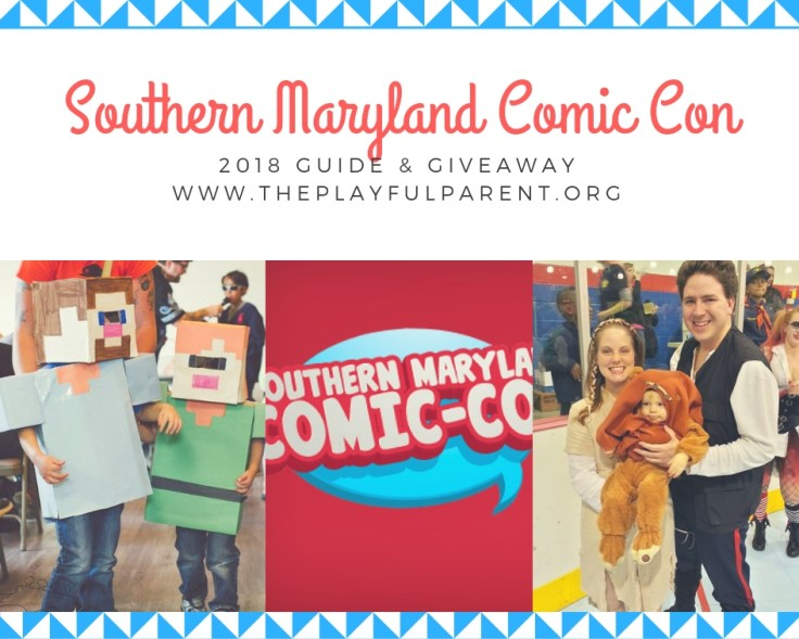 somd comic con- guide cover