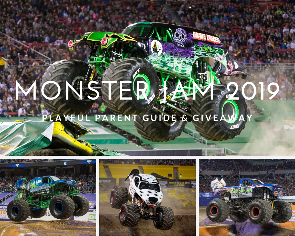 MONSTER JAM RETURNS TO CAPITAL ONE ARENA WITH THREE LARGER