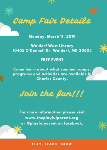 2019 SUMMER CAMP FLYER 2