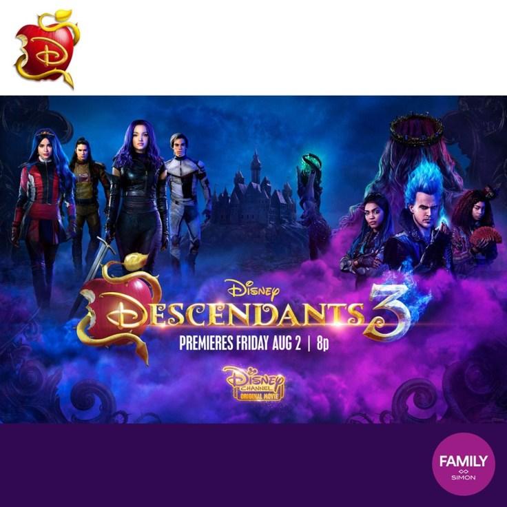 DISNEY DESCENDANTS 3 EVENT