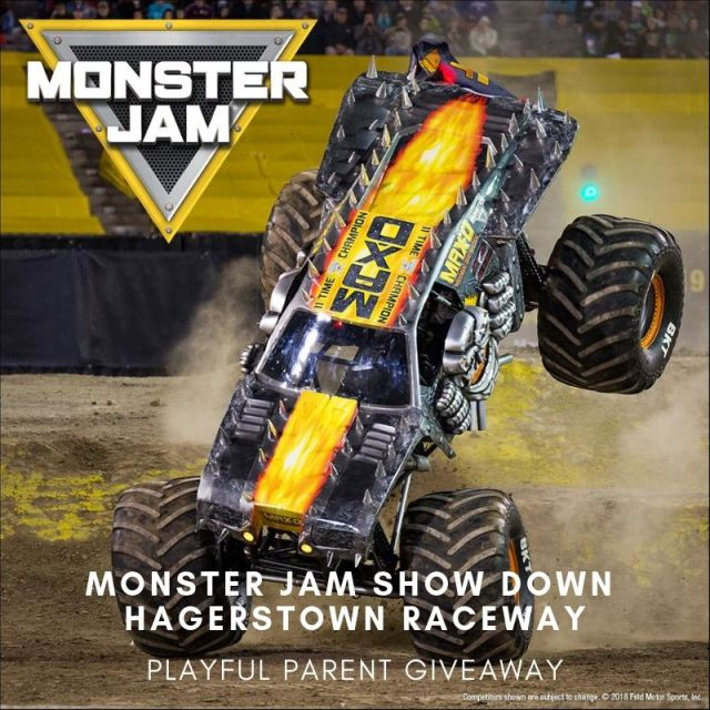 Monster Jam Show Down At Hagerstown Speedway