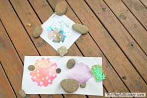 Tie-Dye Snowflake – Make and Play with Mother Goose Time