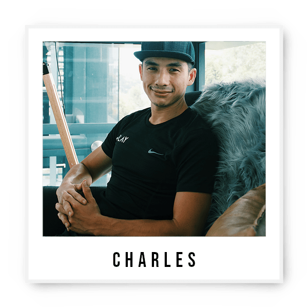 Who is our All Rounder, Boy Next Door, Trustworthy, Reliable and Passionate coach? Familiarize yourself with this unassuming local boy Charles who is ripped on the abs but soft at Heart. He's passionate in helping others in achieving a balanced lifestyle that encompasses all dimensions of health and wellness. With an extensive background in coaching, he lives in creating a training environment that will motivate andempower individuals for challenging yet rewarding lifestyles. At The Playground, you might see him hop with the kids, jam with the bros and chill with the elders as part of his day! Avid Sweet Tooth Spartan Athlete Solo Traveller