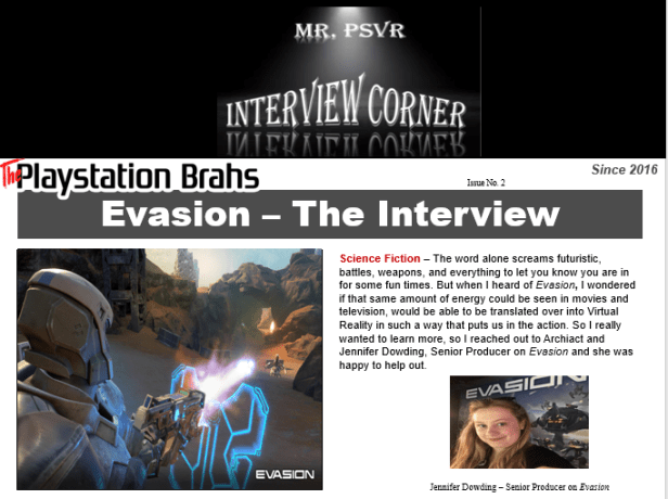 Evasion Interview