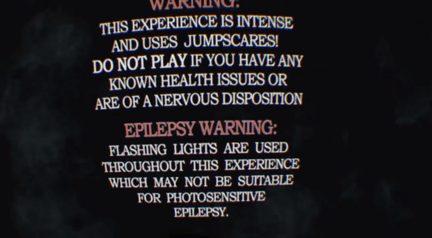 Affected the Manor warning psvr