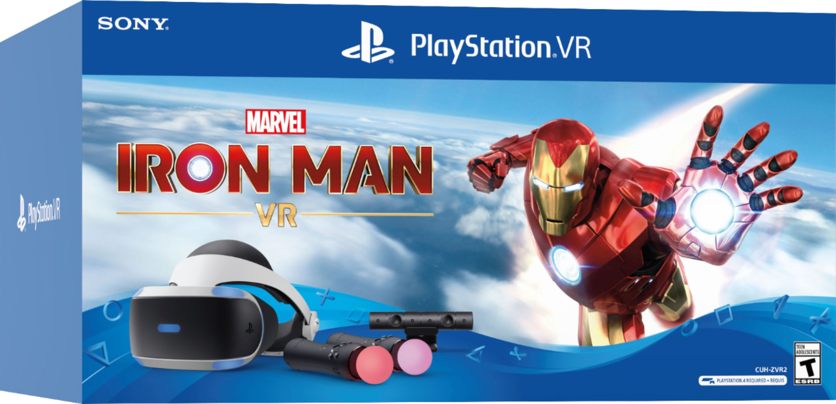 Marvel S Iron Man Vr Playstation Vr Bundle Is Available Now Playstation When You Need It