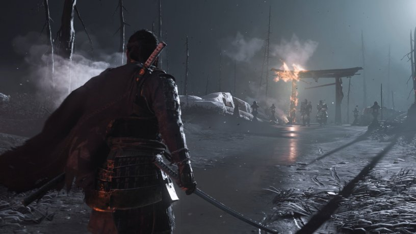 ghost of Tsushima October downloads