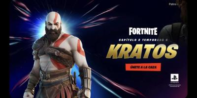 Kratos Coming Soon to Fortnite