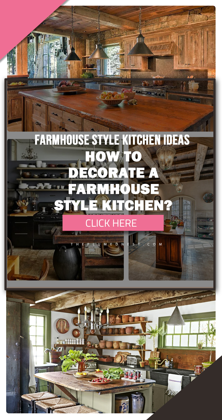 33 + Farmhouse Style Kitchen Ideas, Designs & How to Decorate