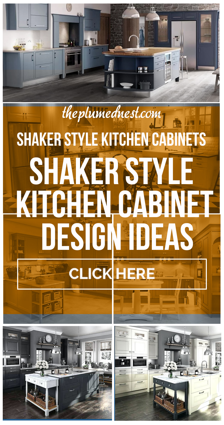20+ Shaker Style Kitchen Cabinets Trends, Ideas & How To Design