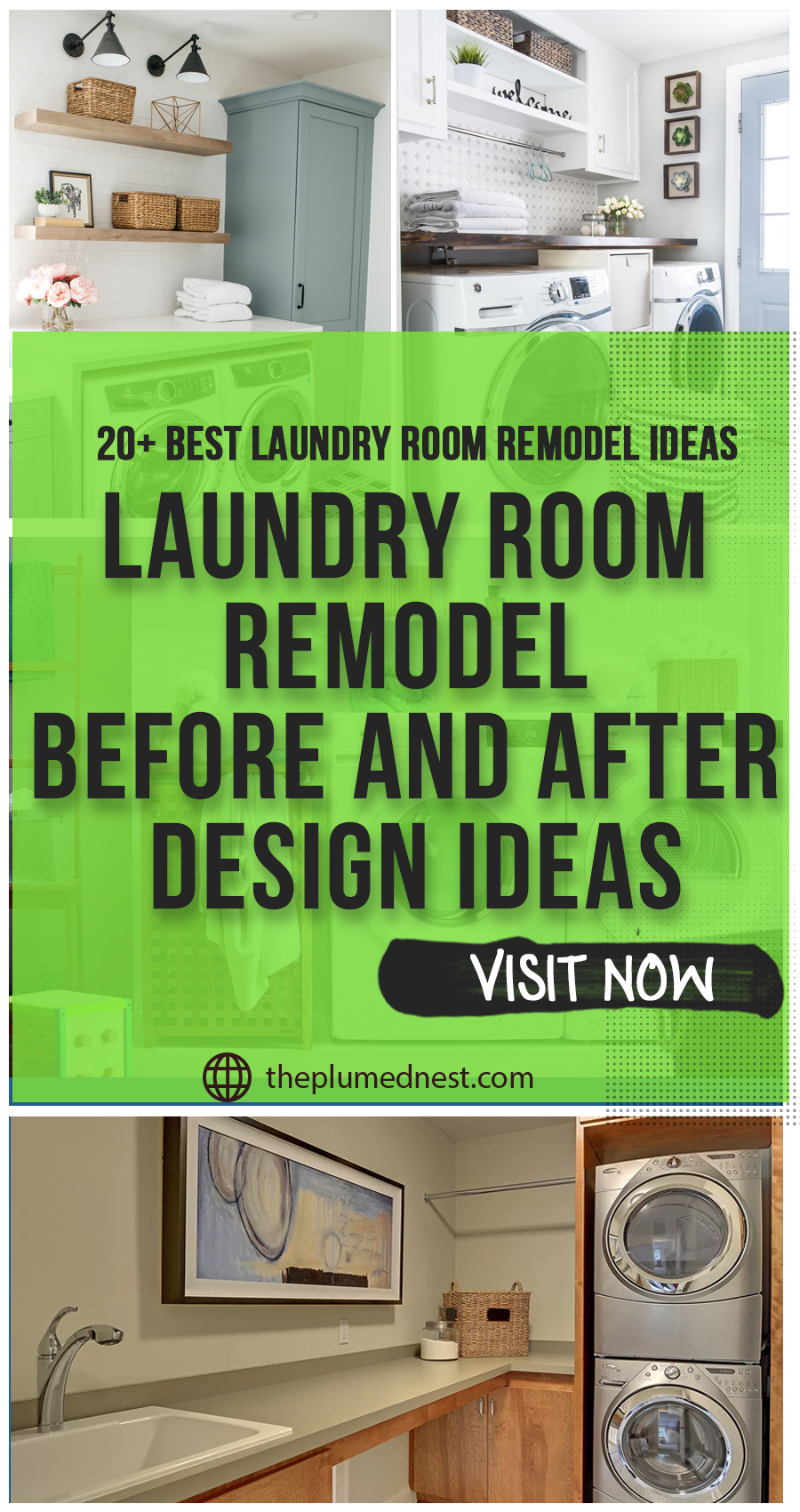 Laundry Room Remodel( 20+ Magnificent Ideas, Remodel Tips & Things to Consider)