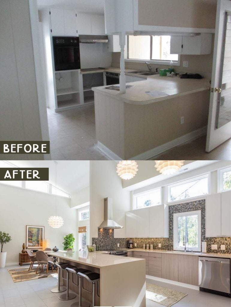 20 Timeless Kitchen Remodel Ideas Before And After 2021