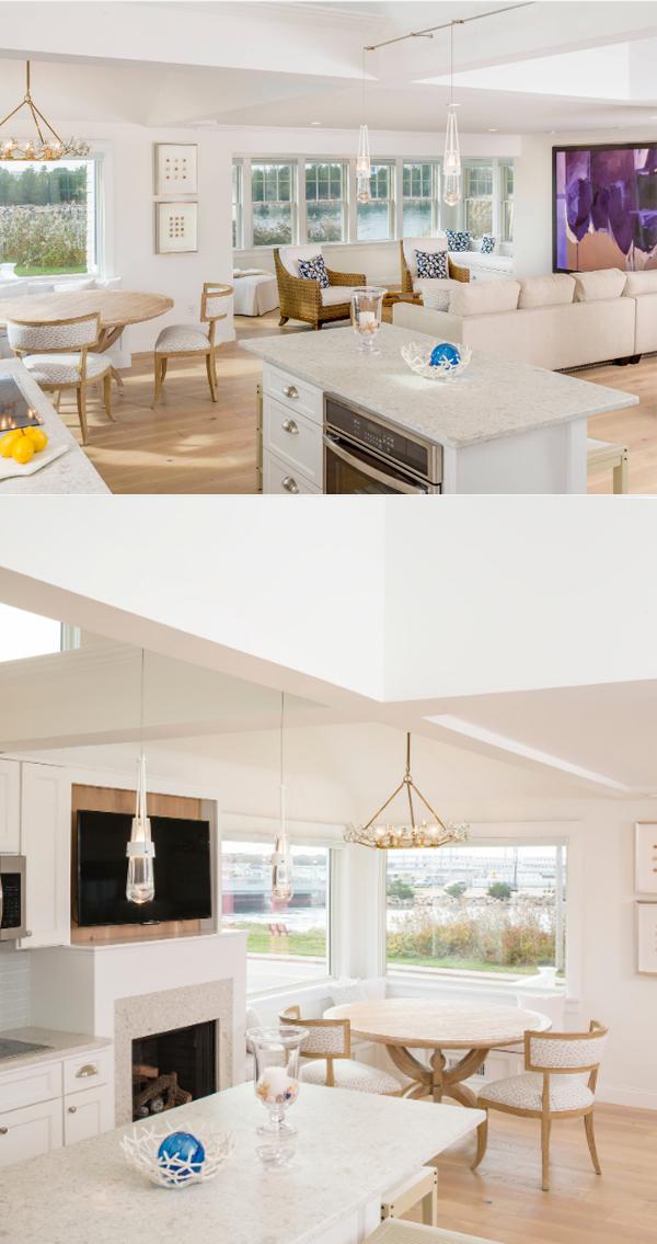 open galley kitchen design
