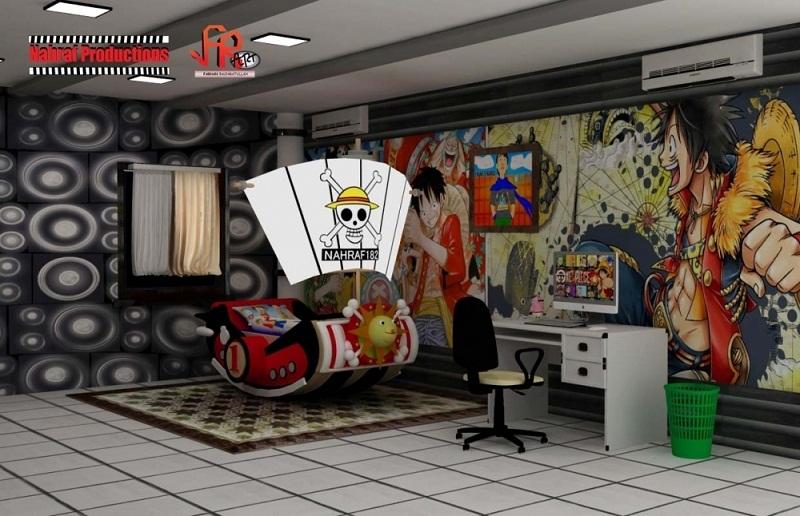 anime living room