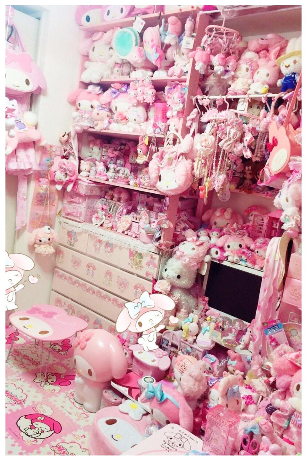 bedroom anime room