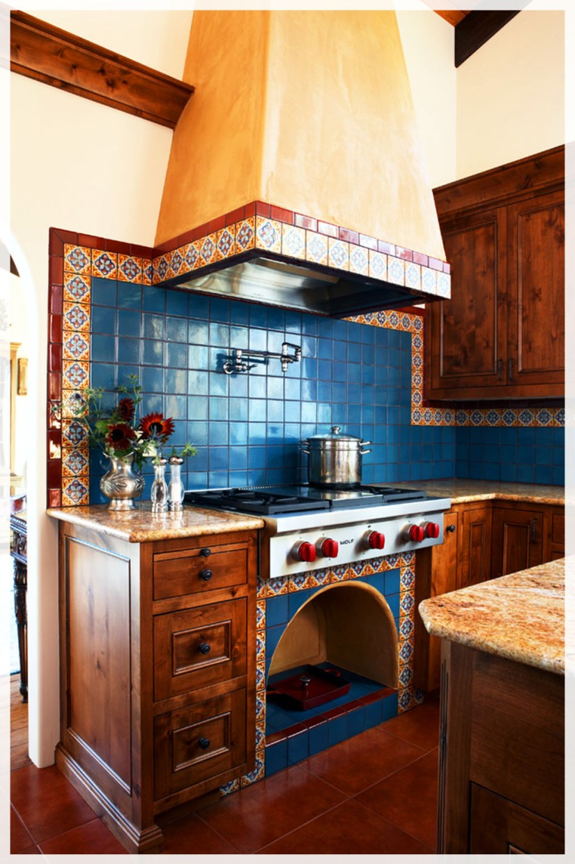 mexican style kitchen tiles