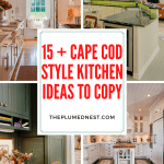 15 + Cape Cod Style Kitchen Ideas to Copy