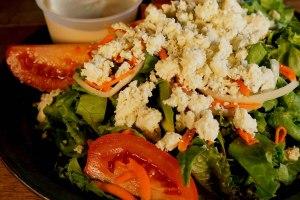 Plum Tomato Gorganzola Salad