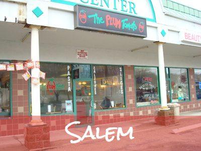 Salem Menu