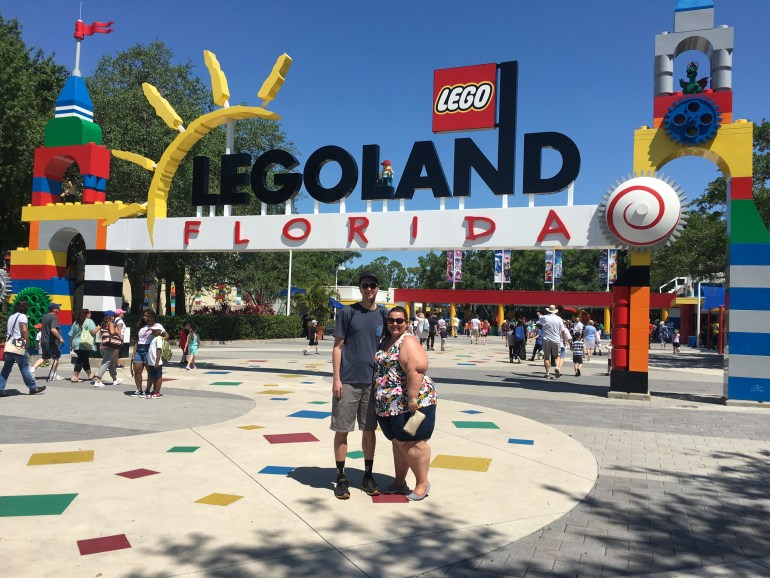 What I Wore To LegoLand - Plus Size Vacation Tips