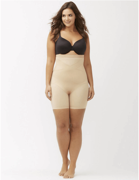 High Waisted Shapewear Shorts To Prevent Chub Rub During The Summer Months