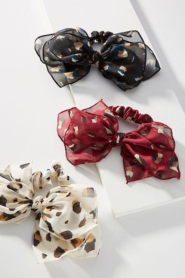 Fall 2019 Plus Size Fashion Trends - Animal Print - Leopard Print Hair Ties