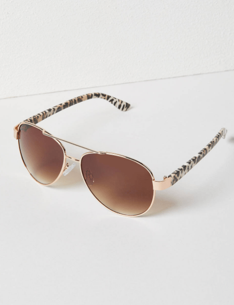 Fall 2019 Plus Size Fashion Trends - Animal Print - Leopard Print Sunglasses