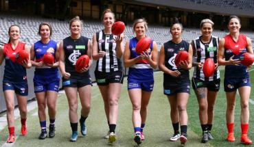 AFLW Marquee girls
