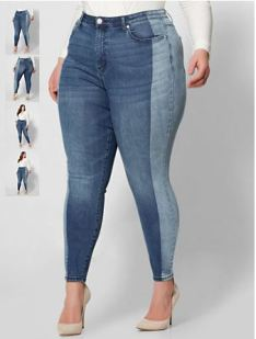 ps two tone jean