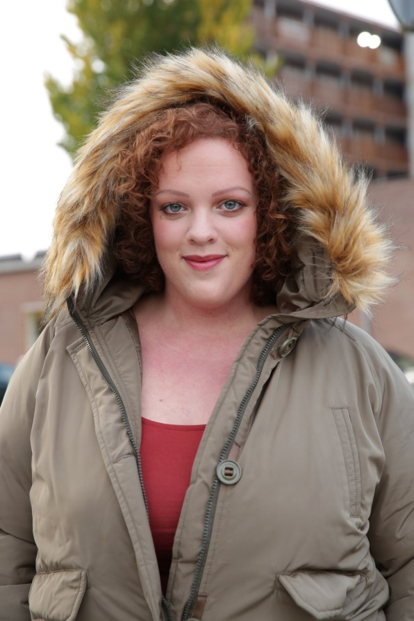 plus size faux fur bomber jacket by Loverdrobe