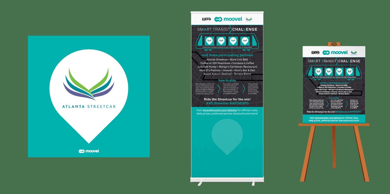Moovel x APTA Conference Partner Marketing example