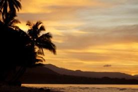 New Ireland sunset