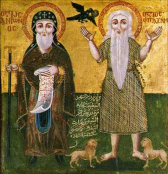 St. Antony and St. Paul