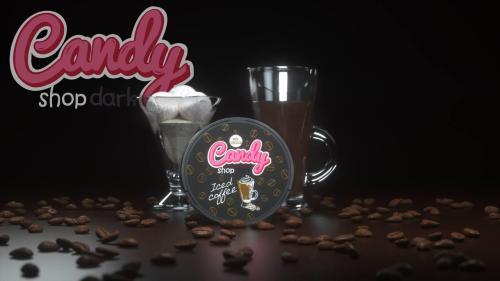 candy shop dark iced coffee nicotine pouches snus nicopods the pod block