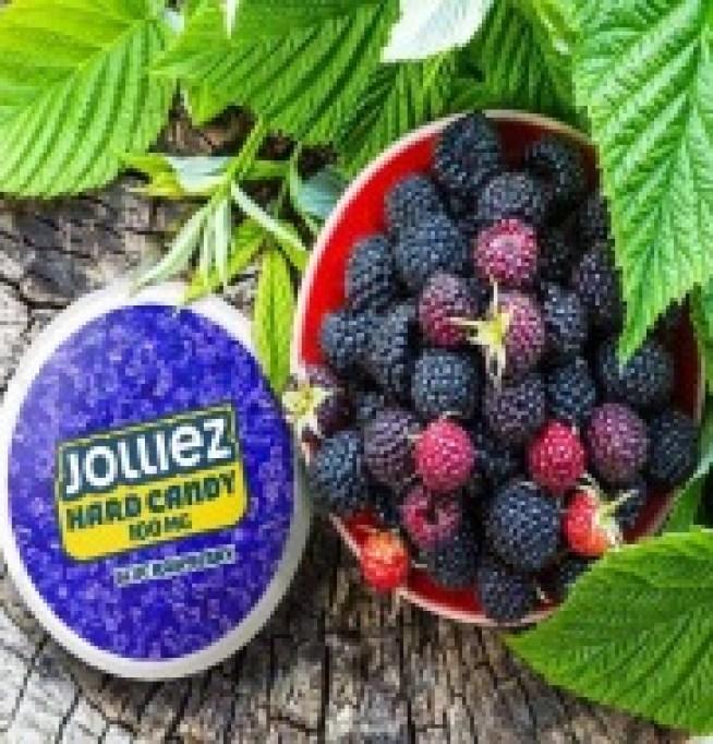 Jolliez Blue Rasberry Flavoured Nicotine Pouch