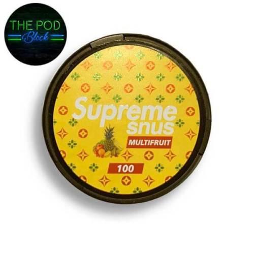 Supreme Multifruit Flavoured Nicopods 100mg