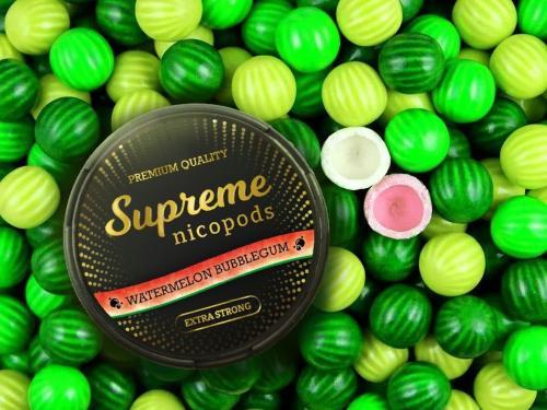 Supreme Watermelon Flavoured Nicotine Pouch Snus