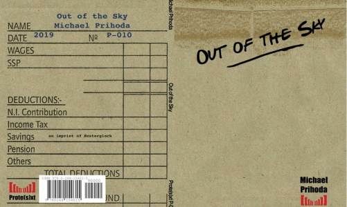 REVIEW: OUT OF THE SKY – MICHAEL PRIHODA (HESTERGLOCK PRESS)
