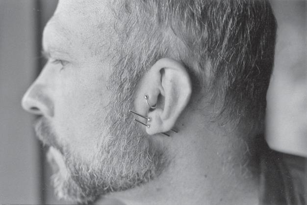 Ear piercing gay side which is for Ear Piercing