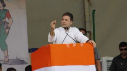 Rahul promises jobs for youth, income for poor