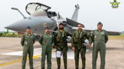 Induction of Rafale in Indian Air Force, Rajnath says beginning of a new era in our Military History
