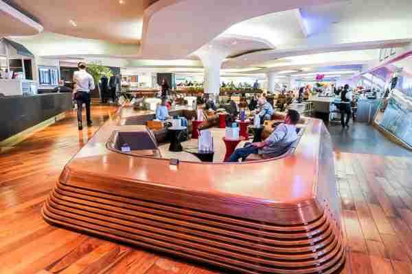 The Virgin Atlantic Clubhouse London Heathrow. (Photo by Nicky Kelvin/The Points Guy)